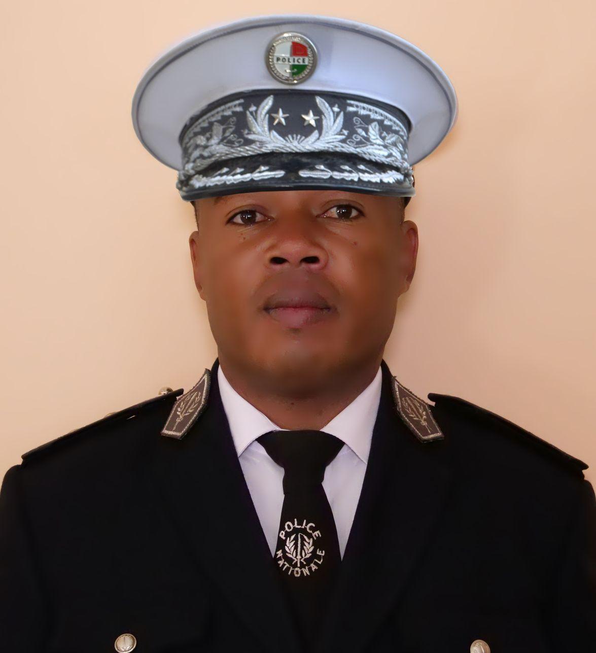 Commissaire Divisionnaire de Police, ANDRIAMANANTSOA Zakatiana Pierre Donatien