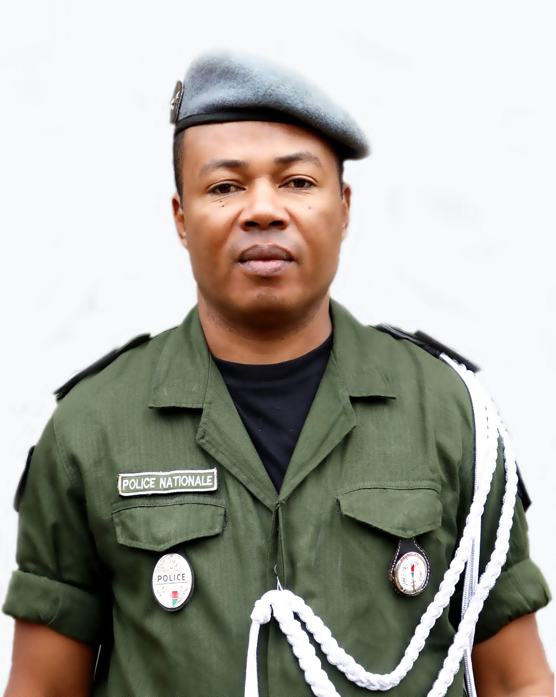 Commissaire Divisionnaire de Police, ANDRIAMANANTSOA Zakatiana Pierre Donatien,