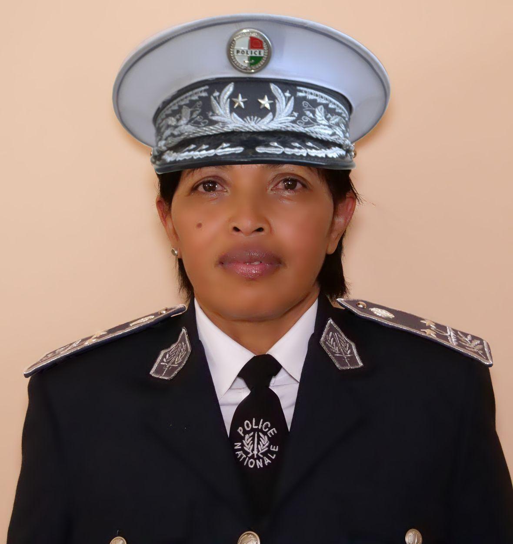 Commissaire Divisionnaire de Police, RASOAMIARAMANANA Gilberte
