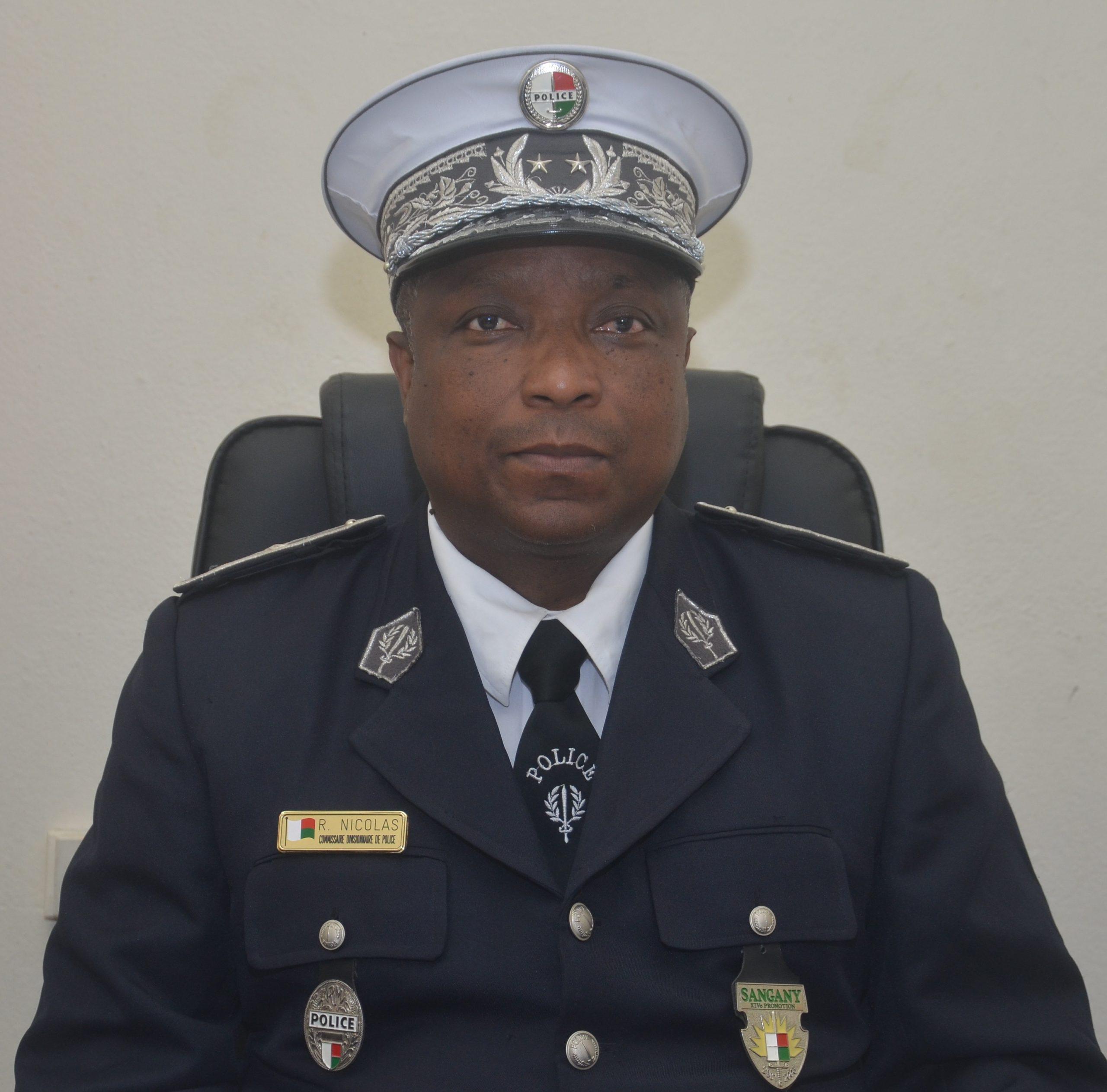 Commissaire Divisionnaire de Police, RAMAMPIANDRY Nicolas