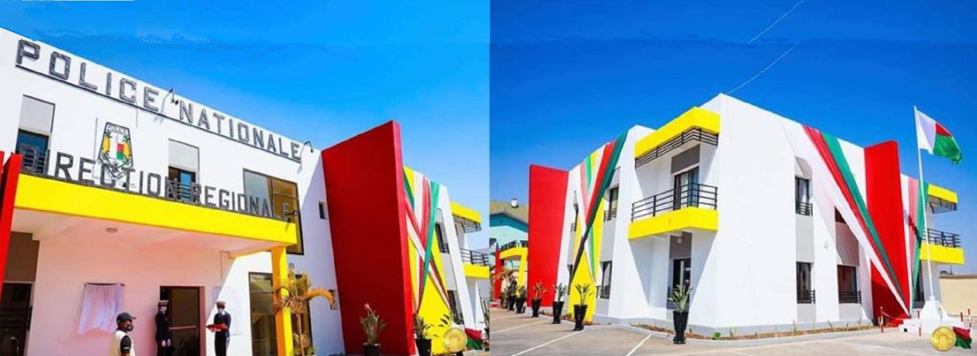 Nouveau bâtiment moderne et aux normes